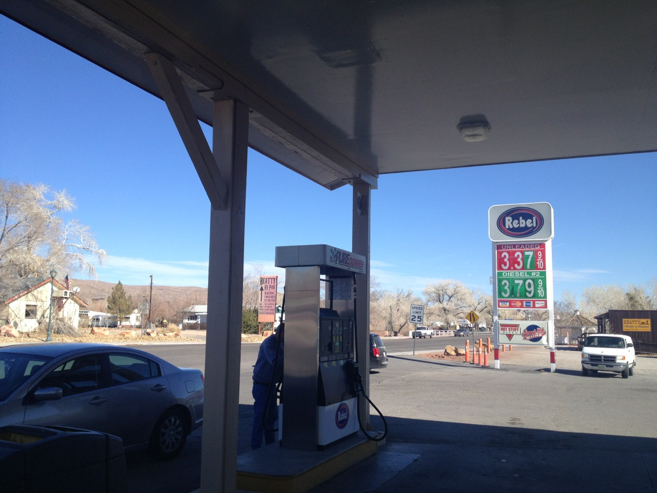 Gas at under $3.50! It's a Nevada Miracle!