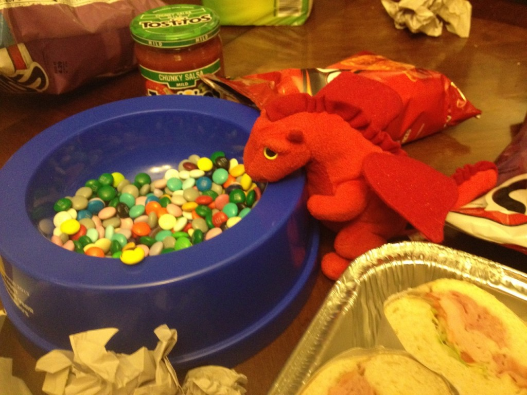 Dafydd prefers candy to booze. He is a responsible dragon.